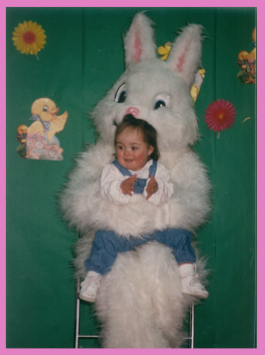Lauren and the Easter Bunny