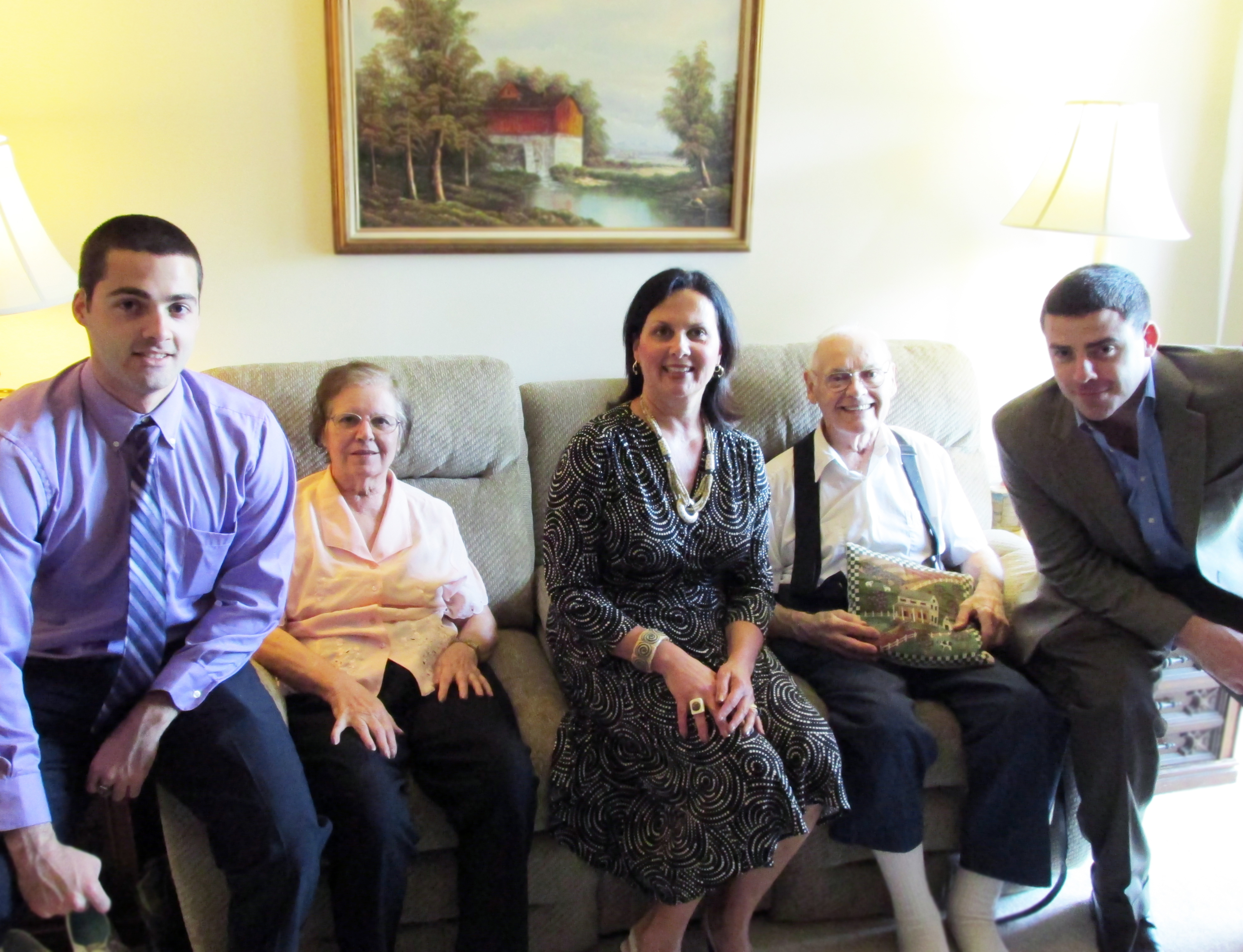 Author Liz Barker and Family