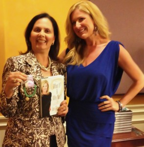 Authors Liz Barker and Jen Groover at Network Now Workshop