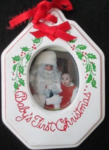 Baby's First Christmas with Lauren Barker