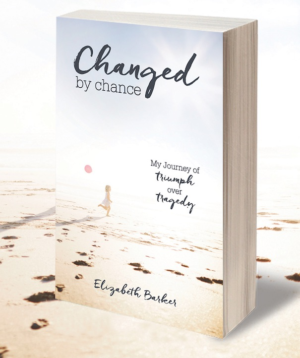 Changed by Chance Book on a Beach